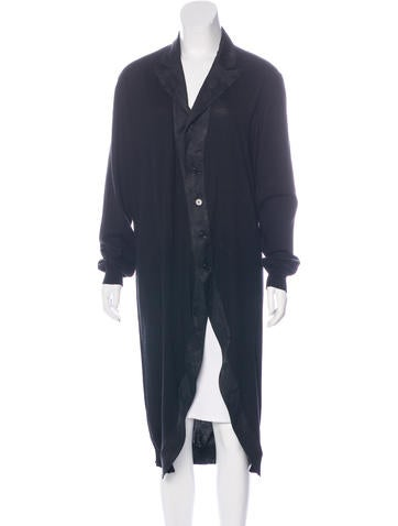 Ann Demeulemeester Long Sleeve Button-Up Cardigan None