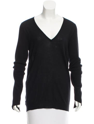 Ann Demeulemeester Asymmetrical High-Low Hem Sweater None