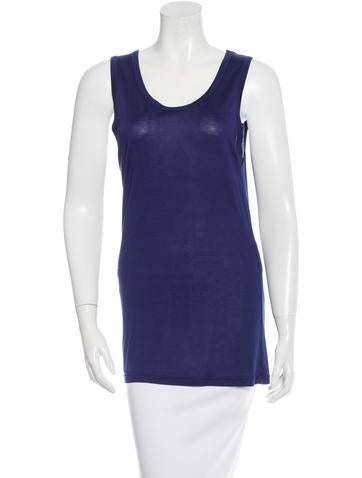 Ann Demeulemeester Sleeveless Pullover Top None