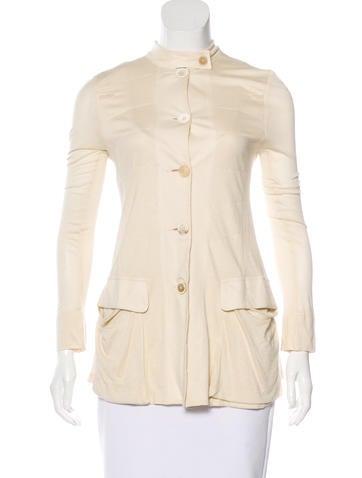 Ann Demeulemeester Long Sleeve Pocket Top None