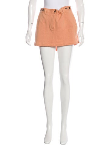 Ann Demeulemeester Knit Mini Skirt None