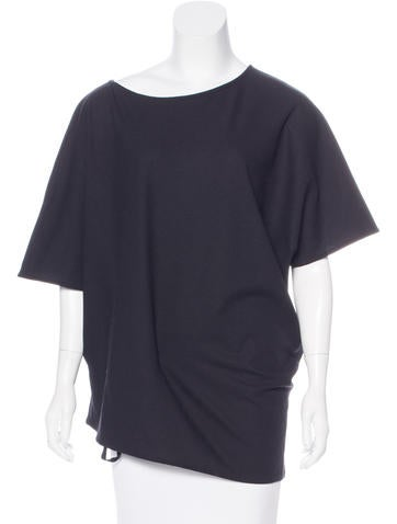 Ann Demeulemeester Wool Oversize Top None