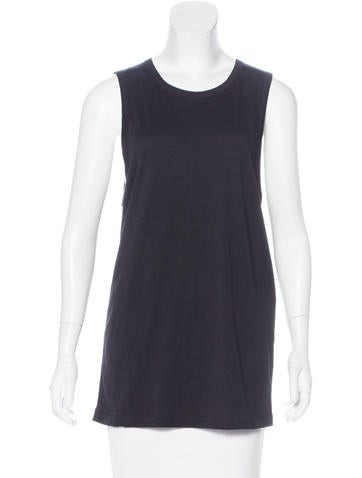 Ann Demeulemeester Sleeveless Open Back Top None