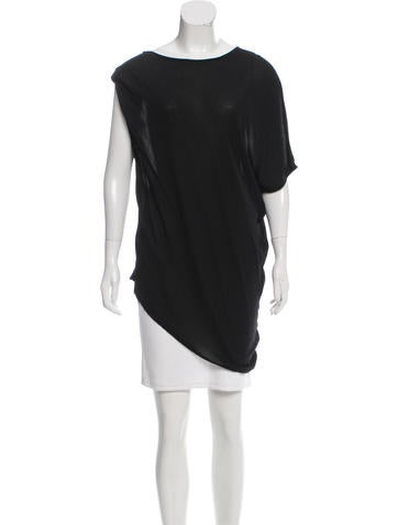 Ann Demeulemeester Oversize Asymmetrical Top w/ Tags None