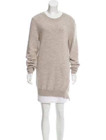 Ann Demeulemeester Wool Oversize Sweater None