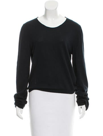 Ann Demeulemeester Wool Long Sleeve Top None