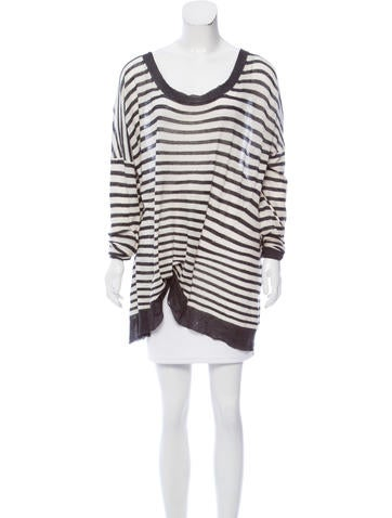 Ann Demeulemeester Striped Knit Sweater None