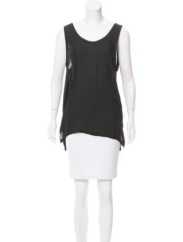 Ann Demeulemeester Sleeveless Knit Top w/ Tags None