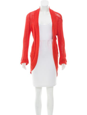 Ann Demeulemeester Open Front Knit Cardigan None
