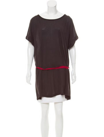 Ann Demeulemeester Oversize Scoop Neck Top w/ Tags None