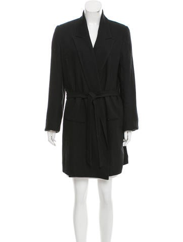 Ann Demeulemeester Textured Wrap Jacket w/ Tags None