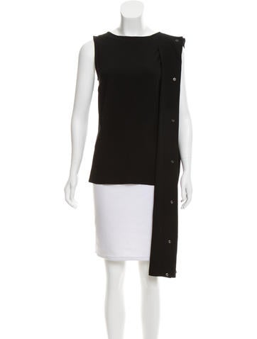 Ann Demeulemeester Sleeveless Asymmetrical Top w/ Tags None