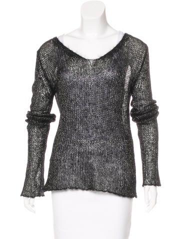 Ann Demeulemeester Mohair Knit Sweater None