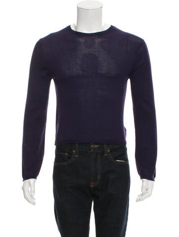 Ann Demeulemeester Lightweight Crew-Neck Sweater w/ Tags None