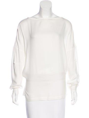 Ann Demeulemeester Oversize Long Sleeve Top None