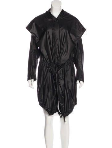 Ann Demeulemeester Hooded Oversize Coat None