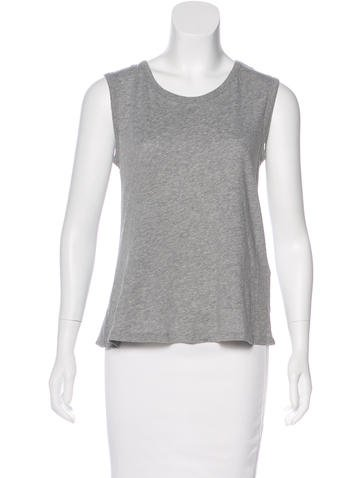 Ann Demeulemeester Sleeveless Crew Neck Top None