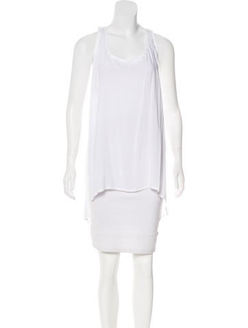 Ann Demeulemeester Sleeveless Scoop Neck Top None