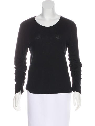 Ann Demeulemeester Long Sleeve Rib Knit Top w/ Tags None