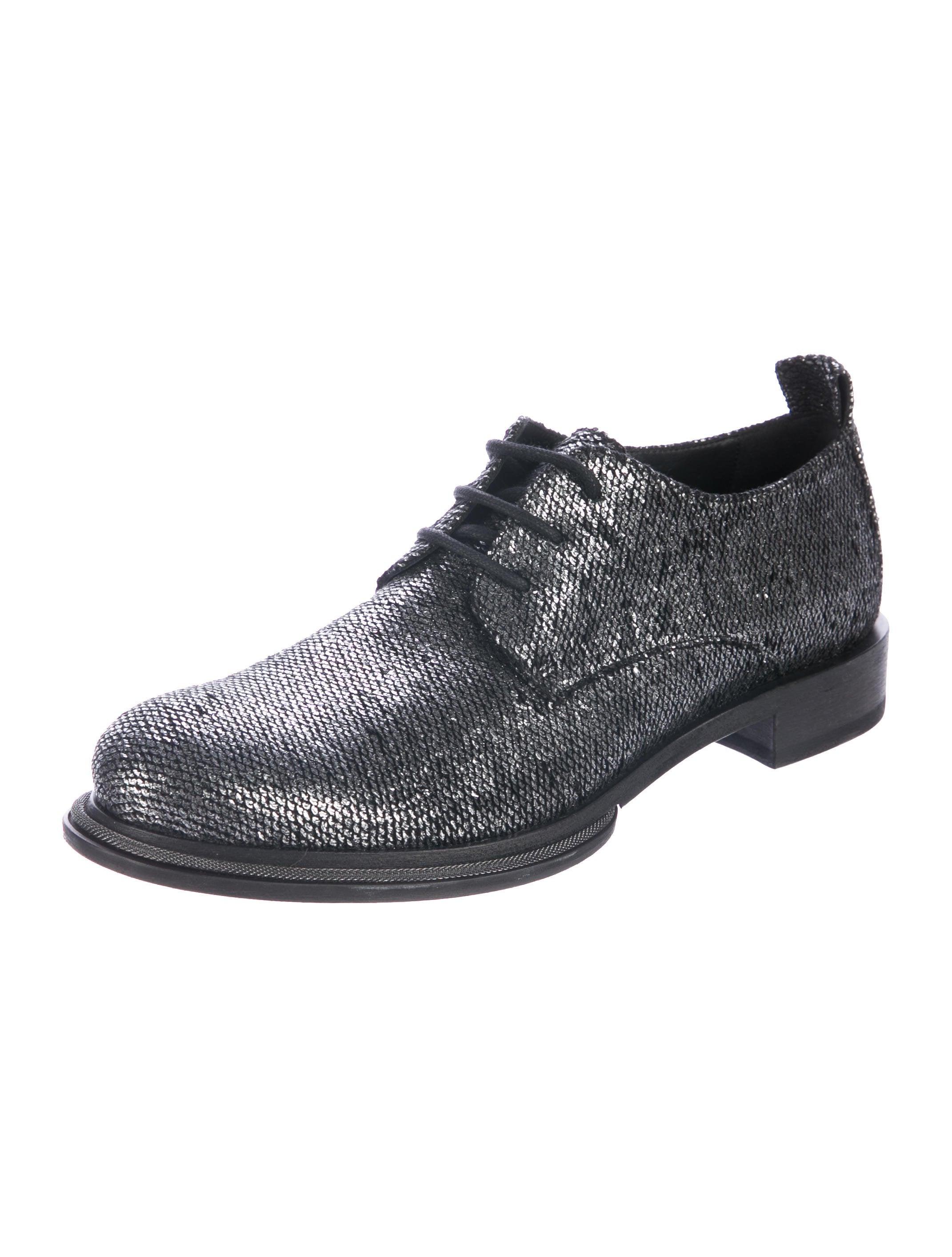 Ann Demeulemeester Embossed Scale Effect Oxfords cheap sale 100% original discount fast delivery clearance discounts discount best vBwF4p4