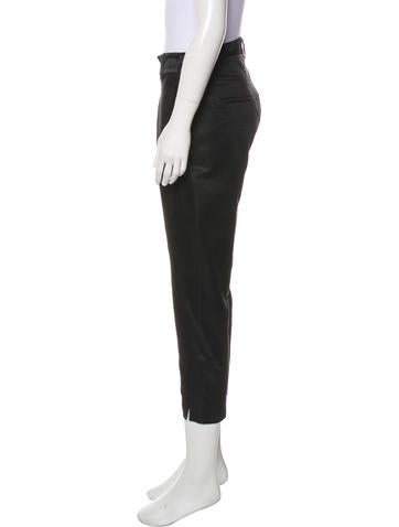 Mid-Rise Wool-Blend Pants w/ Tags