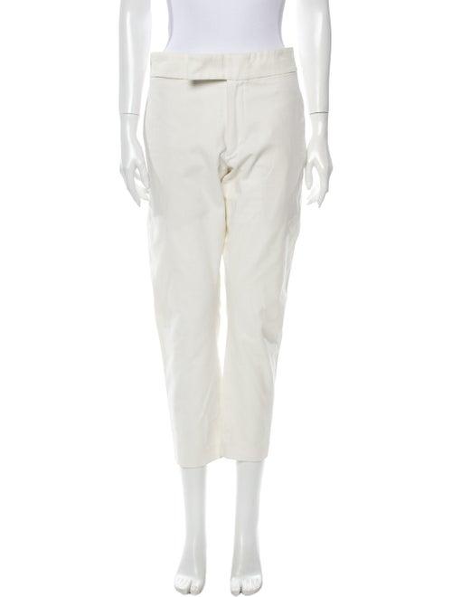 Ann Demeulemeester Straight Leg Pants White