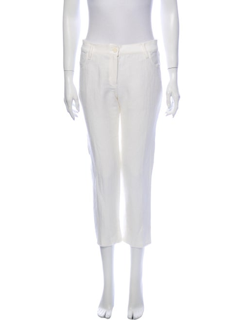 Ann Demeulemeester Linen Straight Leg Pants w/ Tag