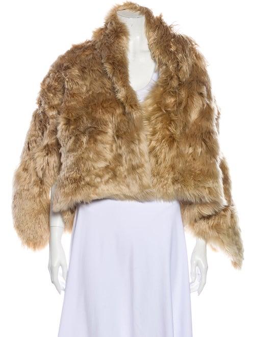 Ann Demeulemeester Faux Fur Jacket