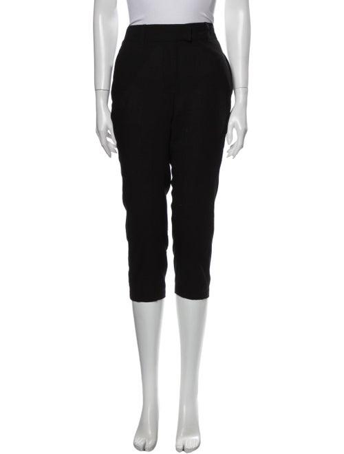 Ann Demeulemeester Wool Straight Leg Pants Wool