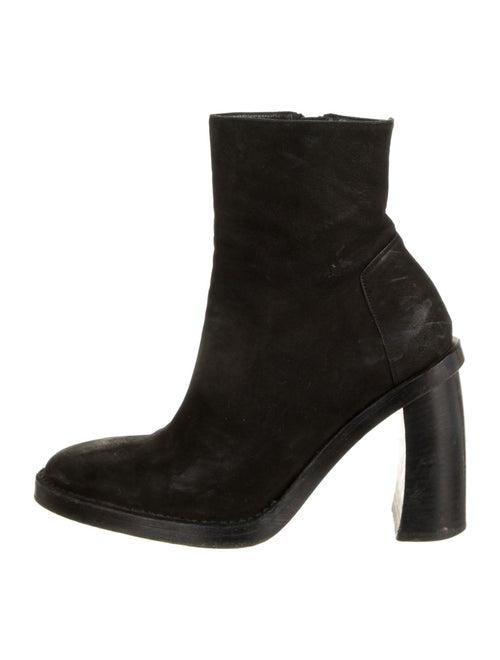 Ann Demeulemeester Suede Boots Black