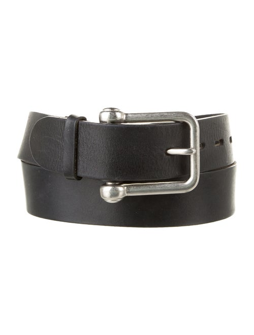 Ann Demeulemeester Leather Hip Belt Black