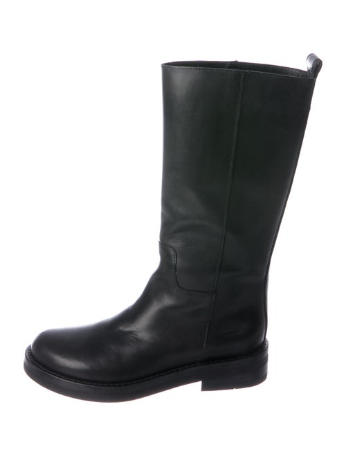 Ann Demeulemeester Calf Leather Boots Black