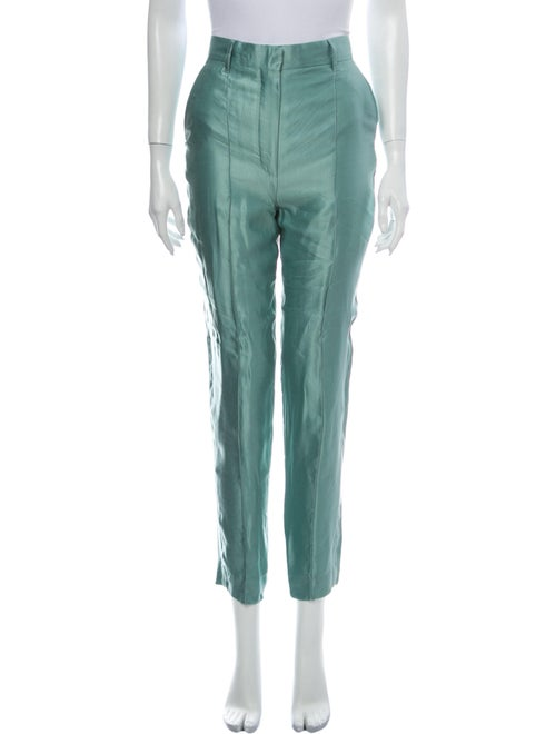 Ann Demeulemeester Skinny Leg Pants w/ Tags Green