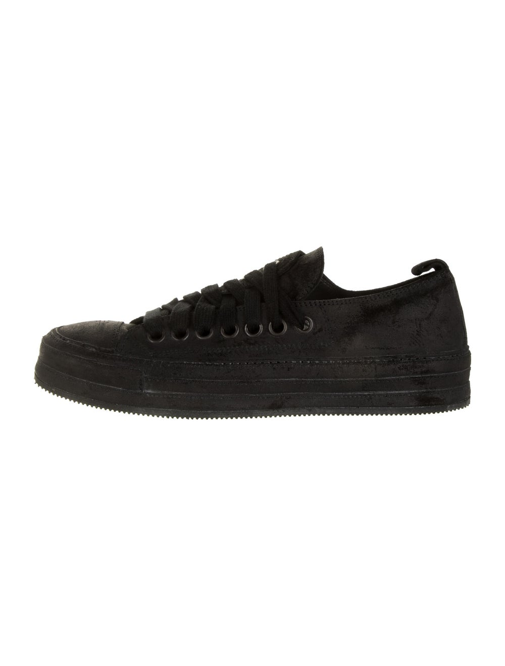 Ann Demeulemeester Suede Sneakers Black - image 1