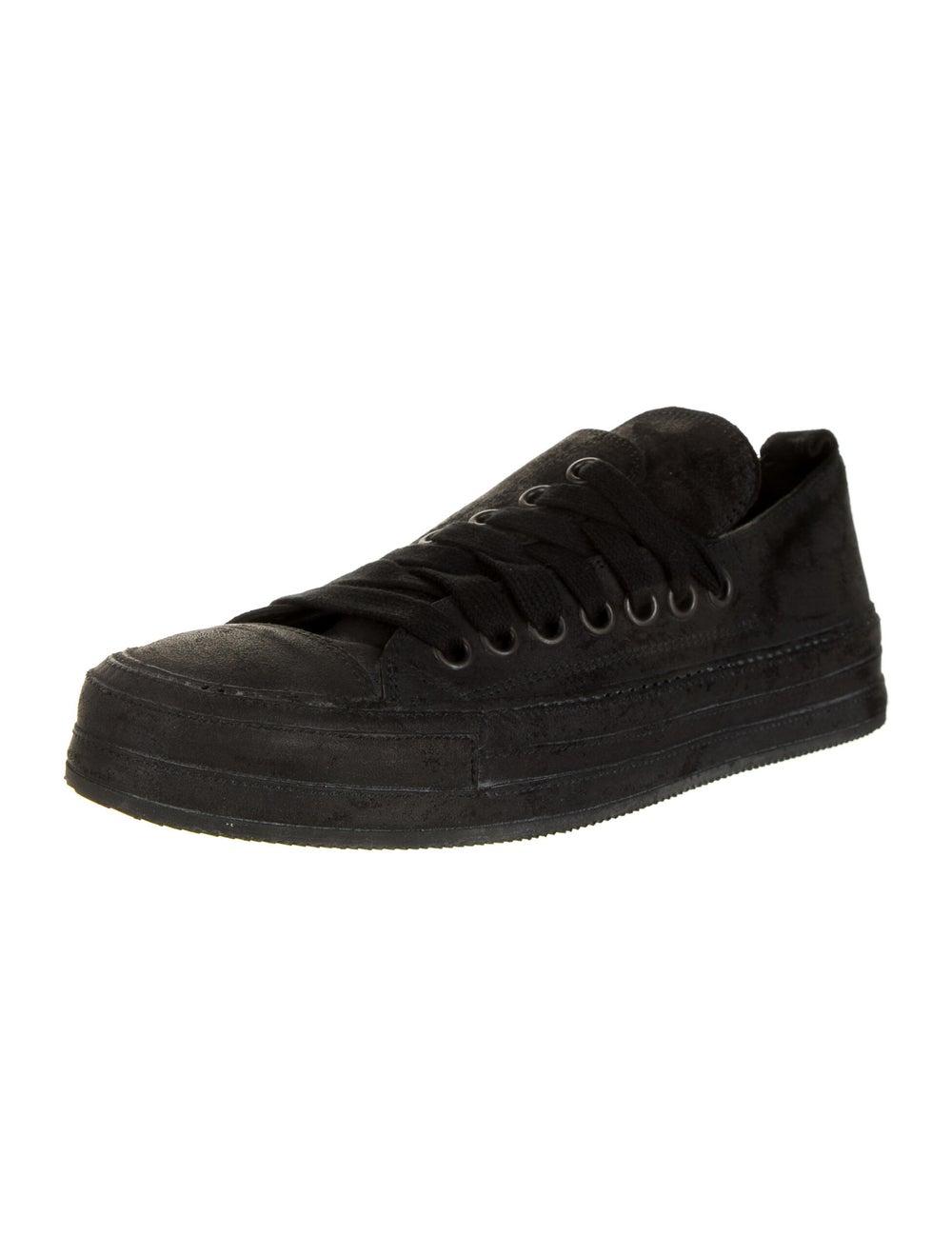 Ann Demeulemeester Suede Sneakers Black - image 2