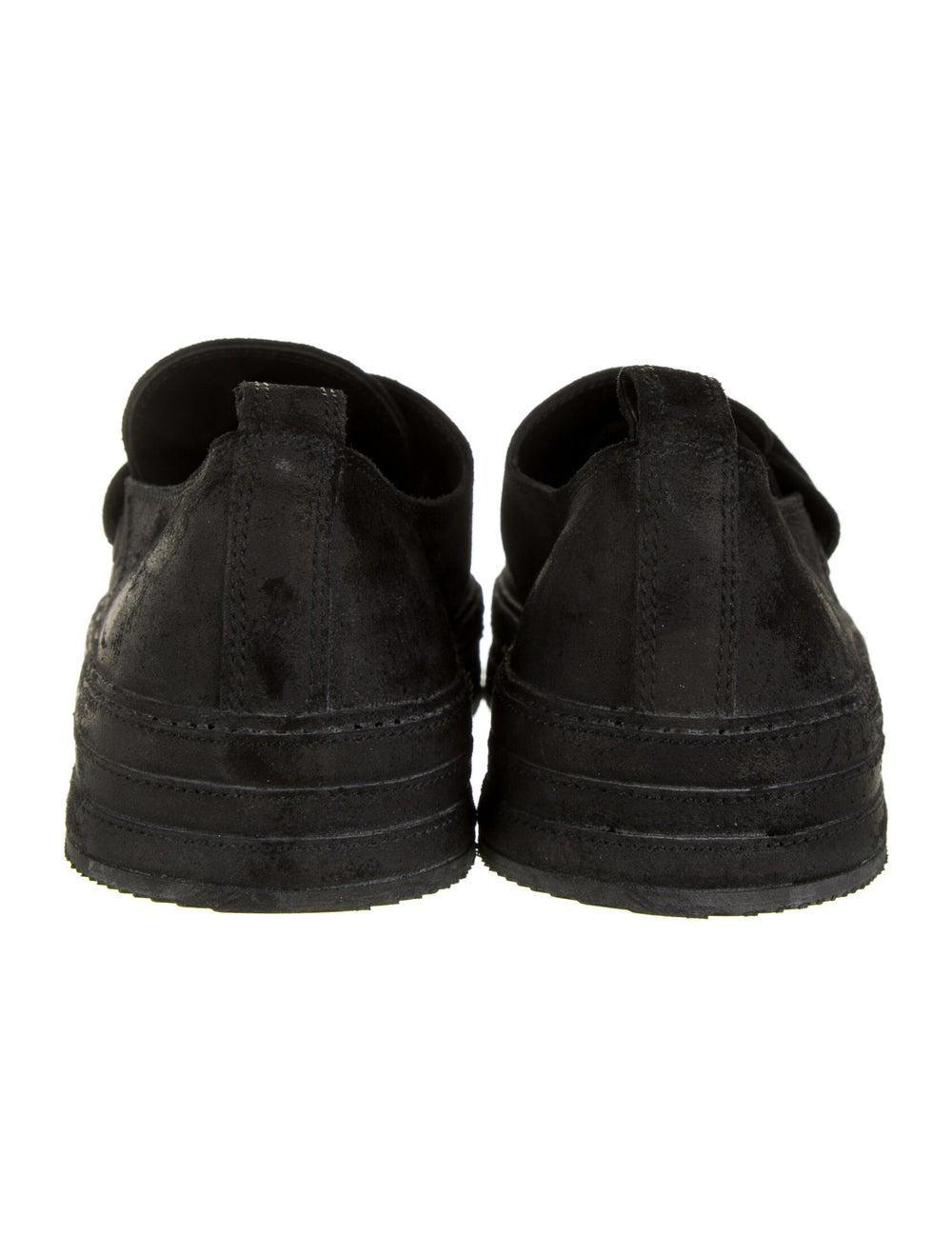 Ann Demeulemeester Suede Sneakers Black - image 4