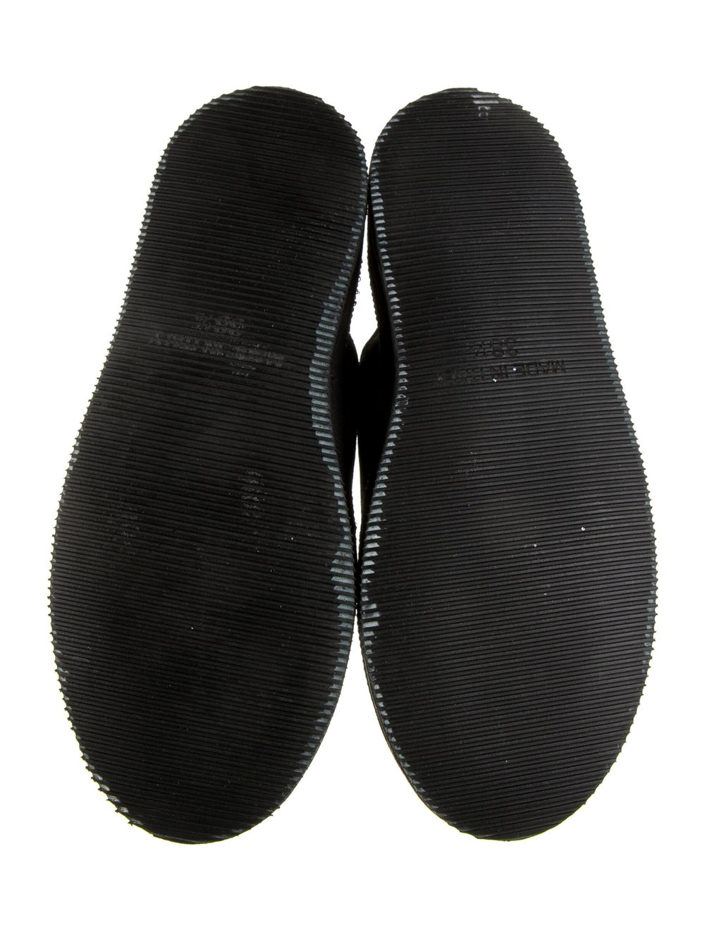 Ann Demeulemeester Suede Sneakers Black - image 5