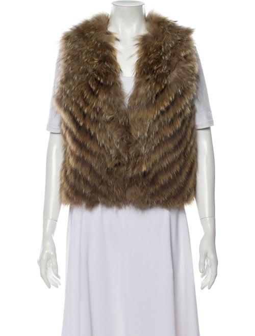 Antik Batik Vest Brown