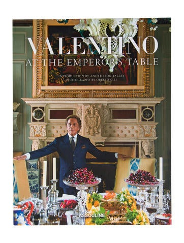 Assouline Valentino: At The Emperor's Table None