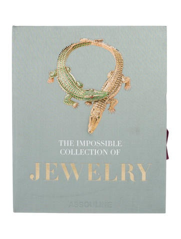 assouline the impossible collection of jewelry decor and