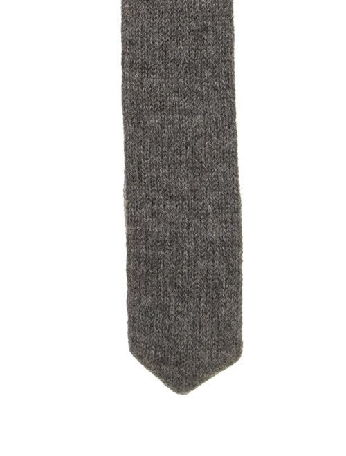 Alicia Adams Alpaca Baby Alpaca Knit Tie w/ Tags g