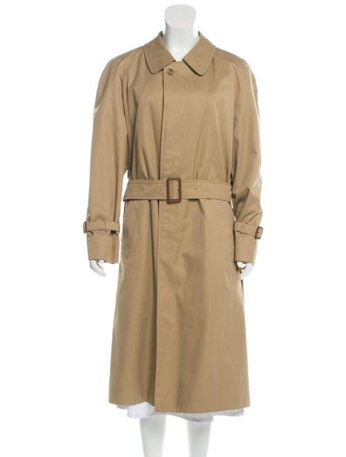 Aquascutum Belted Trench Coat Tan