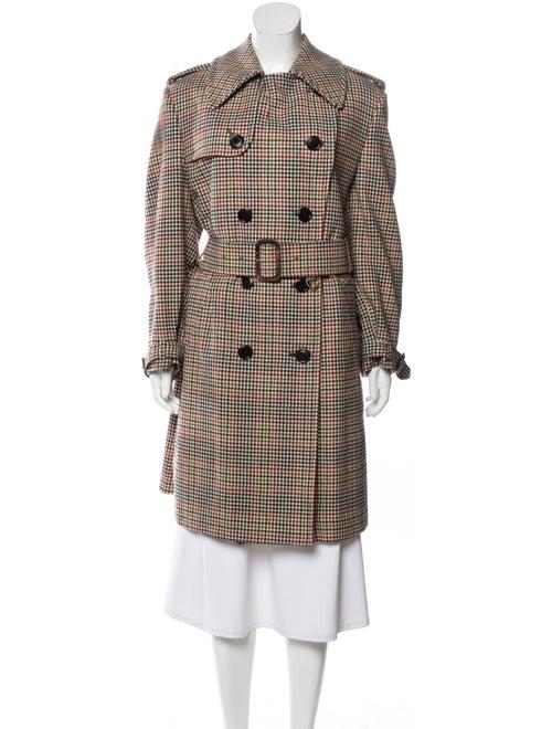 Aquascutum Virgin Wool Double-Breasted Coat multic