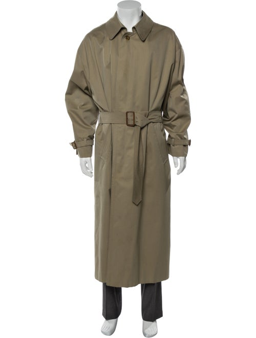 Aquascutum Woven Trench Coat