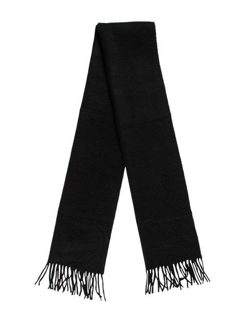 Aquascutum Cashmere Knit Scarf black - image 1