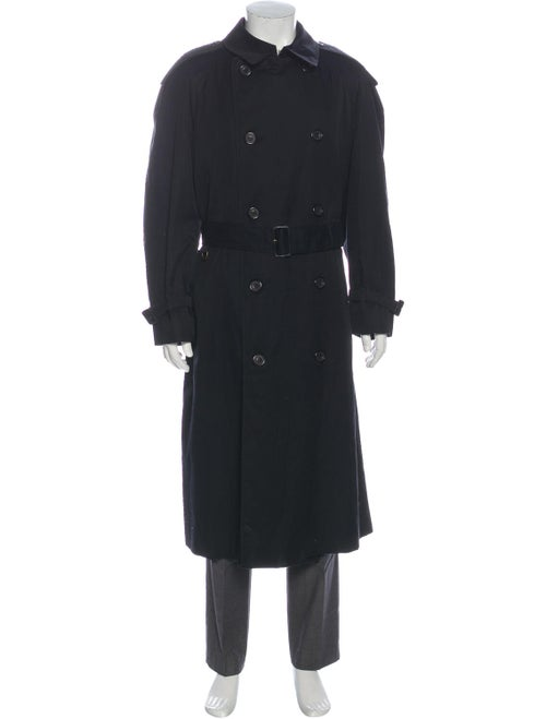 Aquascutum Trench Coat Black - image 1
