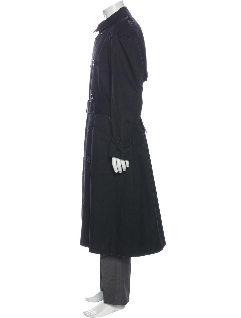 Aquascutum Trench Coat Black - image 2