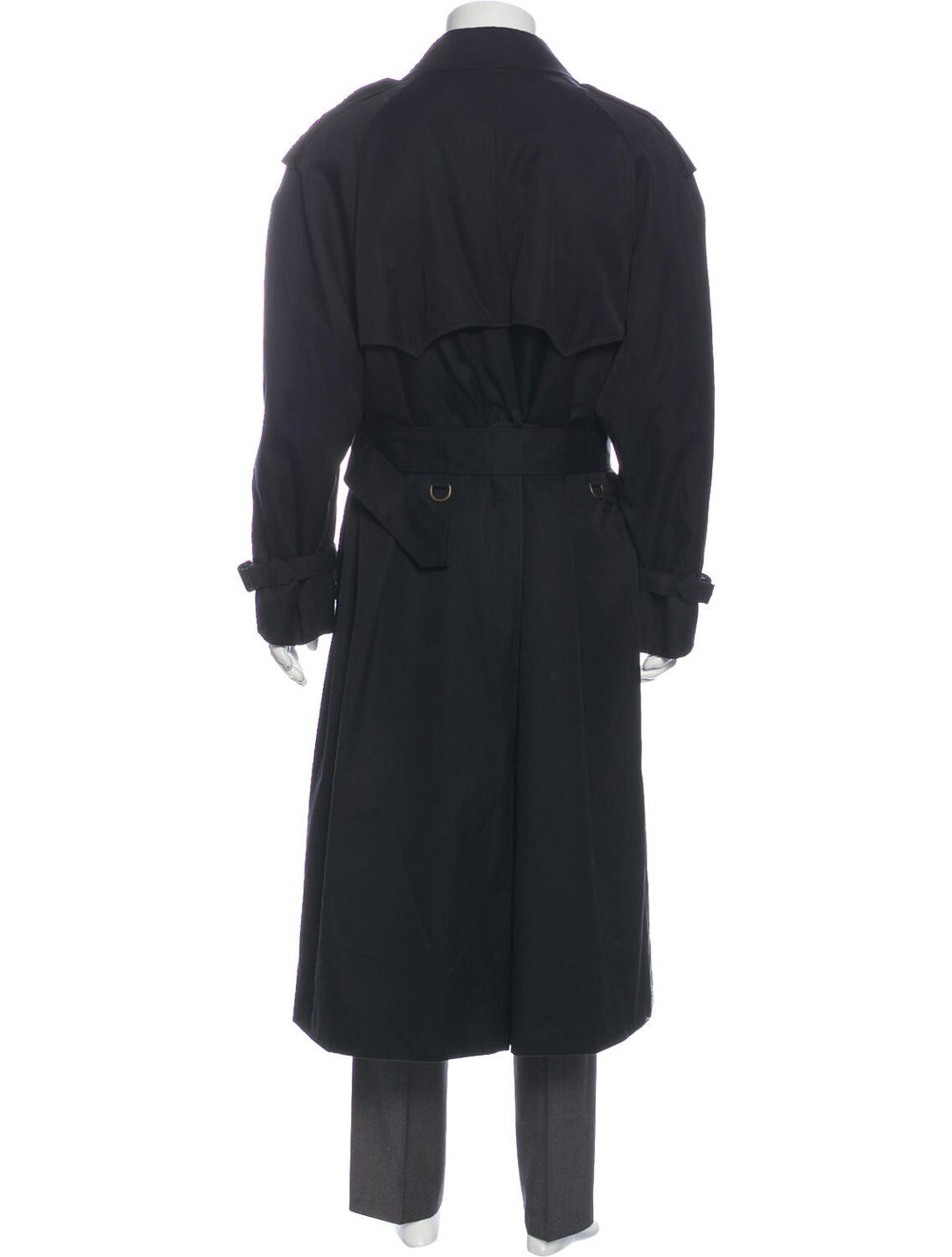 Aquascutum Trench Coat Black - image 3