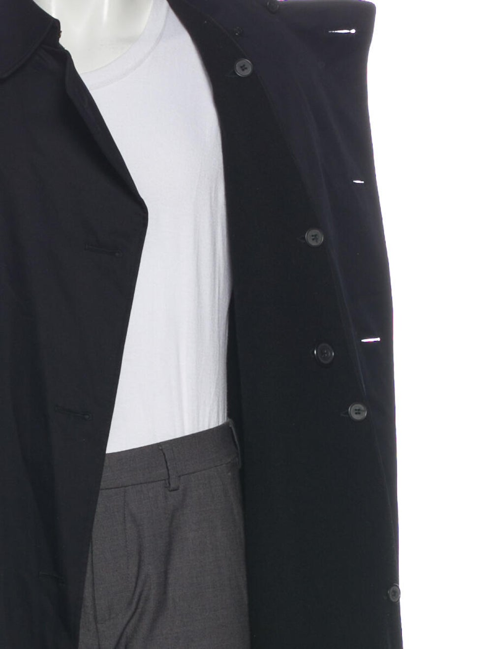 Aquascutum Trench Coat Black - image 4