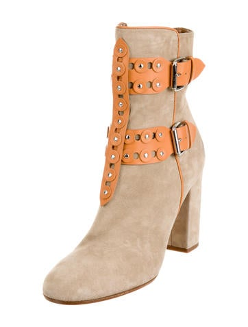 Rebel Studded Ankle Boots